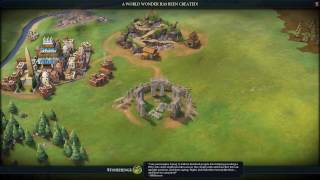 Sid Meier's Civilization VI- ALL ROADS LEAD TO ROME. STONEHENGE AND RELIGION PART 1
