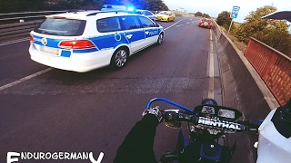 POLICE GETAWAY | SUPERMOTO || ENDUROGERMANY