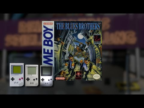 Gameplay : The Blues Brothers [Gameboy]