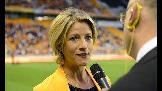 Jacqui Oatley and Fran Kirby hit back against critics of Vicki Sparks