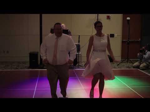Best Surprise 1st wedding dance Dancing Through the Decades