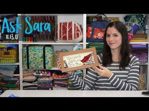Ask Sara!