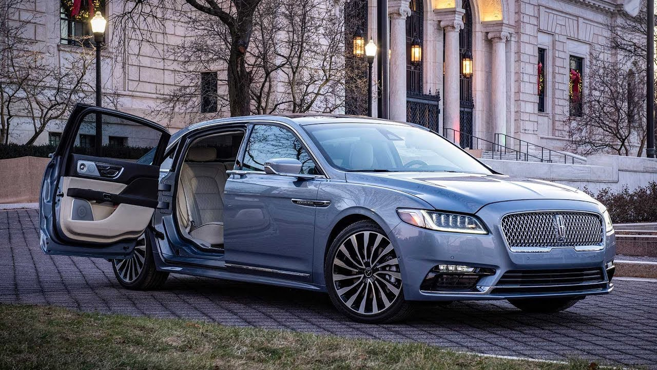 2020 Lincoln Continental Coach Doors Special Edition Youtube