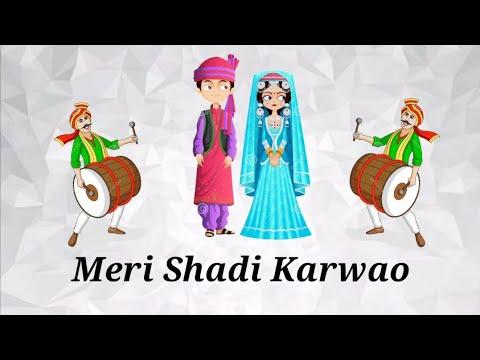 Funny WhatsApp Video Song Status | Funny Song Lyrical Status | Meri Shaadi Karwao