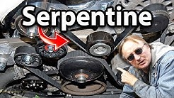 How to Replace a Serpentine Belt in Your Car (Fan Belt)