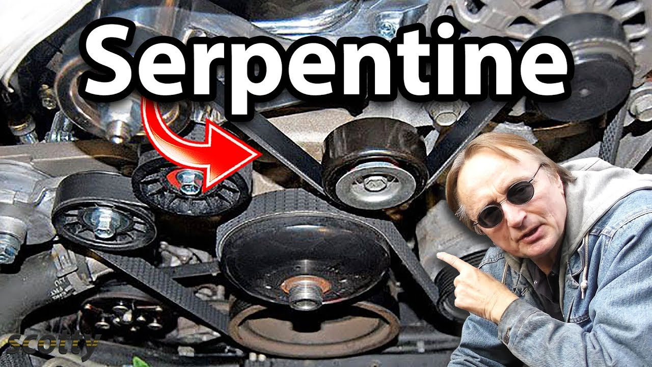 How To Replace A Serpentine Belt In Your Car  Fan Belt