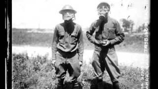 Old fashioned gas masks - slideshow