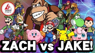 Super Smash Bros Ultimate SMASHDOWN BATTLE Between Zach vs. Jake! (Smash Bros Ultimate Gameplay)