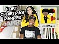 OUR FIRST CHRISTMAS MARRIED! | VLOGMAS