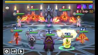 summoners war toa 50 hard veromos and basic team