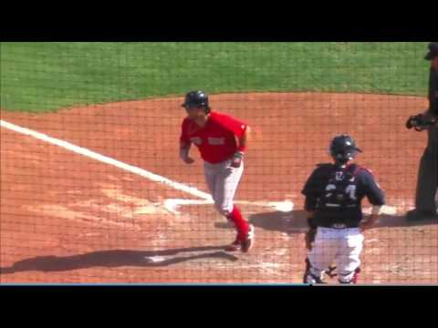 Andrew Benintendi Home Run: 3/3/17