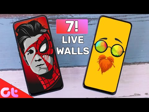 Top 7 Best Live Wallpaper Apps For Android In 2020 | Zabardast Animations | GT Hindi