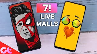 Top 7 Best Live Wallpaper Apps for Android in 2020 | Zabardast Animations | GT Hindi screenshot 2