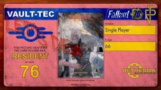 Let's Play Fallout 76   Single Player #66 Abwurfstelle V9 - Sie kommen aus der Erde