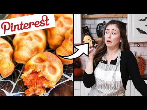 Thumbnail: I Tested The Most Viral Pinterest Halloween Recipes