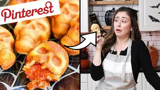 I Tested The Most Viral Pinterest Halloween Recipes