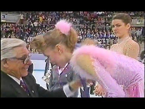 Nancy Kerrigan - Reaction on Oksana Baiul Winning Gold
