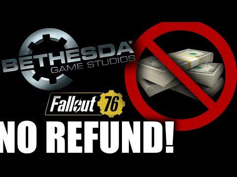 Bethesda Promises Fallout 76 Player A Refund, Then Breaks Promise The Next Day