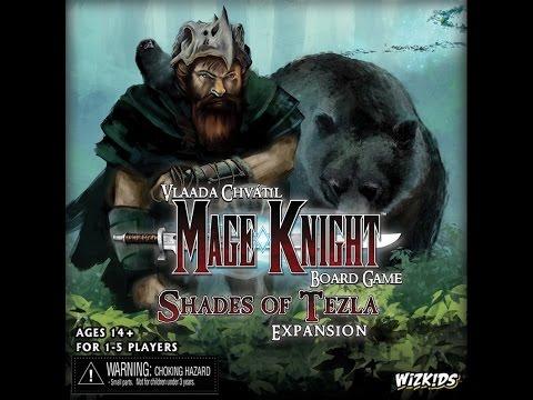 Mage Knight Shades of Tezla Night 1