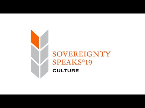 Sovereignty Speaks© 19: Culture | Valorie Walters