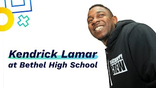 Download Kendrick Lamar Teaches and Flows with Students at Bethel High School Mp3 and Videos