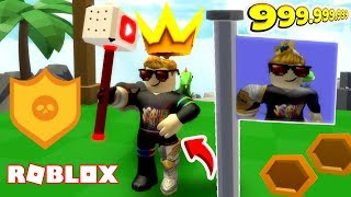 NEW! LONGEST LIVING PEWDIEKING IN ROBLOX + HAMMER | Hammer Simulator Roblox