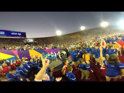 Special Olympics 2015 Opening Ceremony