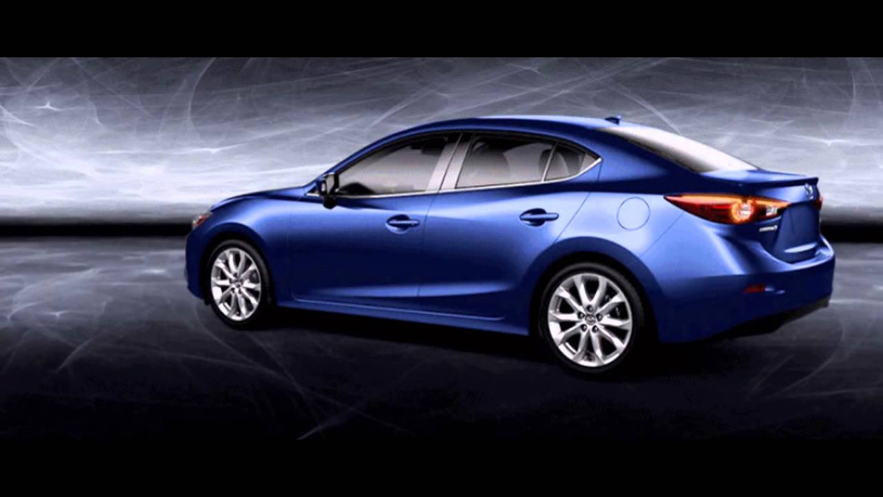 2016 mazda3 4 door deep crystal blue youtube. Black Bedroom Furniture Sets. Home Design Ideas
