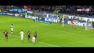 AC Milan vs Cagliari 2-1 Goals and Highlights