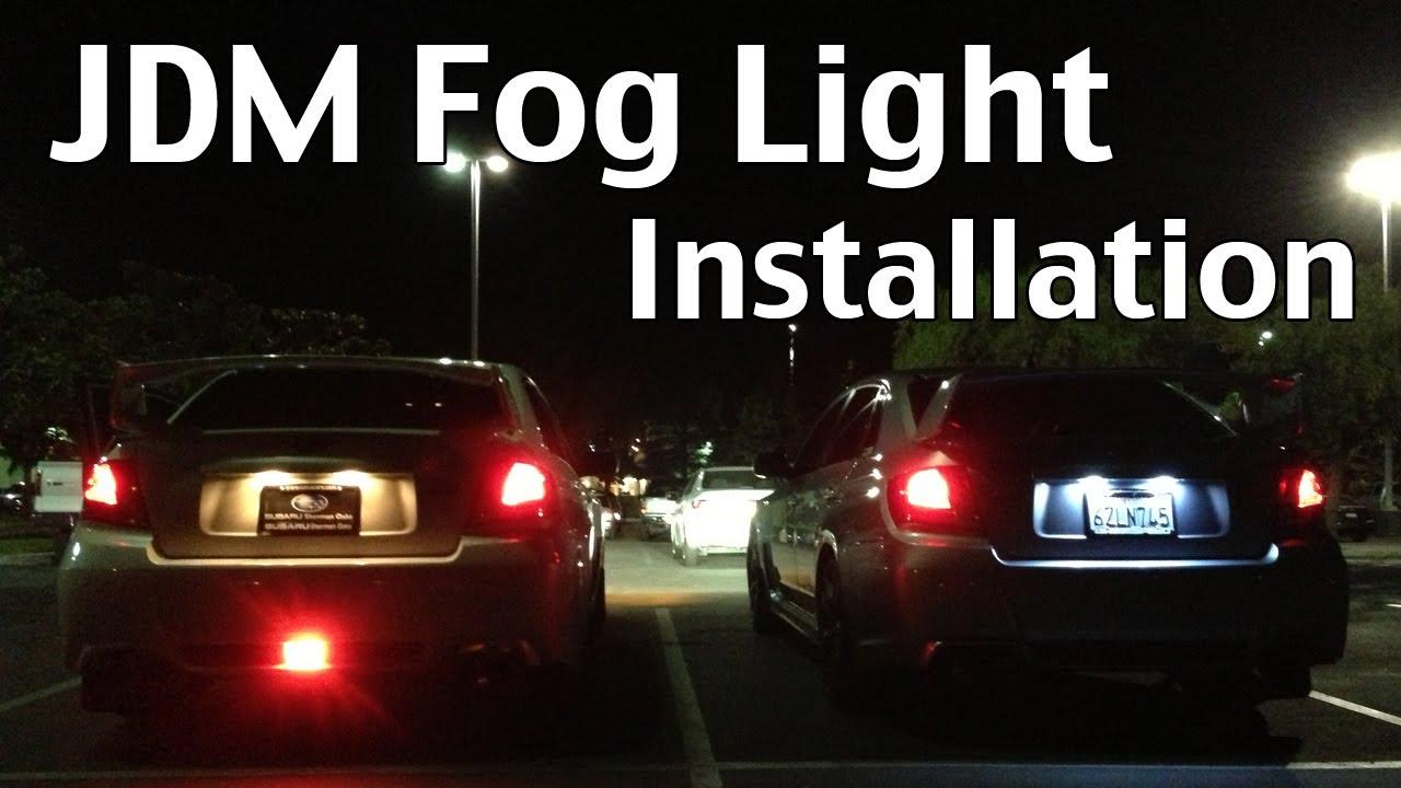 & Installing JDM Brake Light 2013 Subaru WRX STI - YouTube