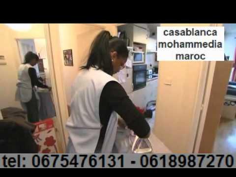 Recherche femme de menage maroc