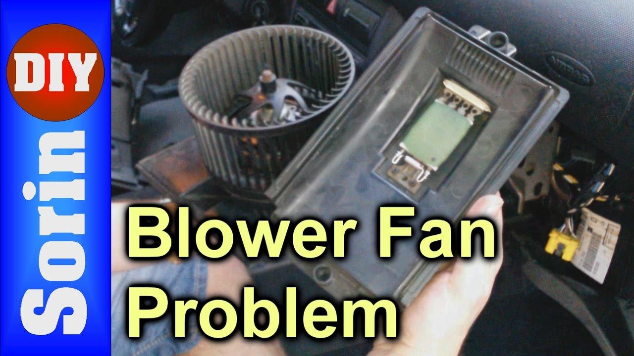 Blower Fan Problem  Not Working On Speeds 1,2,3 (Seat