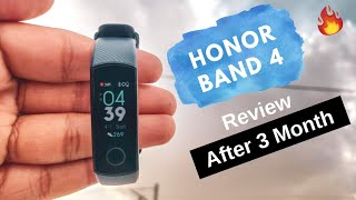 Honor Band 4 Review 2019 | After 3 Month Use 🔥🔥🔥