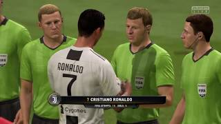 0  -   6    Real Madrid Vs Juventus On FIFA19  (5 GOALS with Ronaldo)