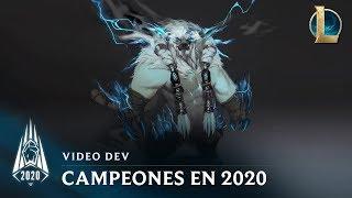 Campeones de la temporada 2020 | Video dev - League of Legends