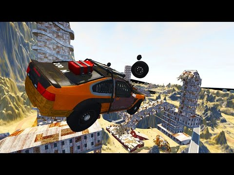 INSANE MAD MAX WASTELAND! - BeamNG Drive Wasteland Map UPDATE