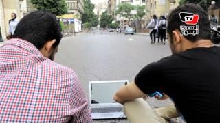 «البلاي ستيشن» وسيلة الصحفيين للاعتراض علي حصار «الأمن» لهم