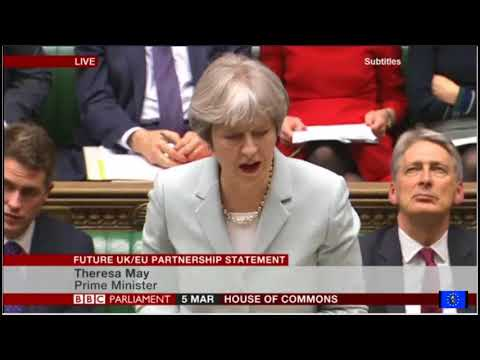Brexit fallout: Theresa May's Commons statement on the future UK-EU partnership
