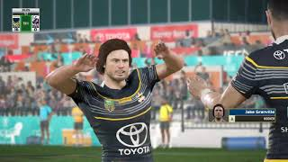 Rugby League Live 4 - Cowboys Career 2018  - Round 3