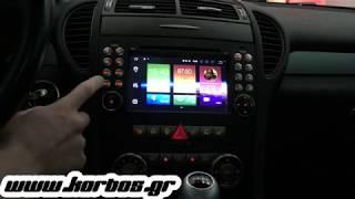 Mercedes slk Android 8 Car Stereo Bizzar BL-MB71 www.korbos.gr