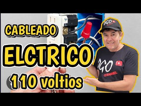 Facil cableado electrico para una construction nueva.