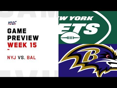 New York Jets vs Baltimore Ravens Week 15 NFL Game Preview