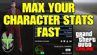 GTA Online Max Your Character Stats Fast