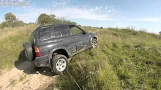 Suzuki Grand Vitara II - off road - диагональное вывешивание(, 2015-09-21T18:01:27.000Z)