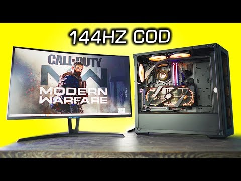 This Gaming PC Can 144Hz COD: Modern Warfare With RTX ON!