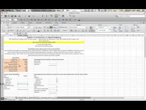 Chapter 4 - Net income vs. Cash flow