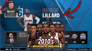 Reacting To I Reset The NBA To 2010 And Re-Simulated THE WHOLE DECADE | Clique Productions Ep. #1