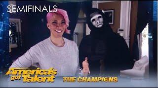 Marc Spelmann: Creepy Magician X SNEAKS Into Terry Crews' Home | @America's Got Talent Cha
