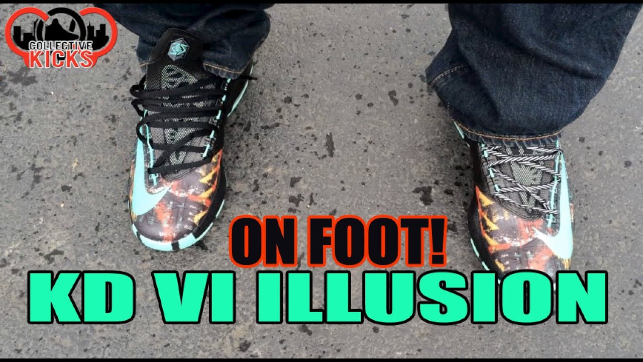On Feet: KD VI Illusion + Glowing! & Lace Swap (AS All ...