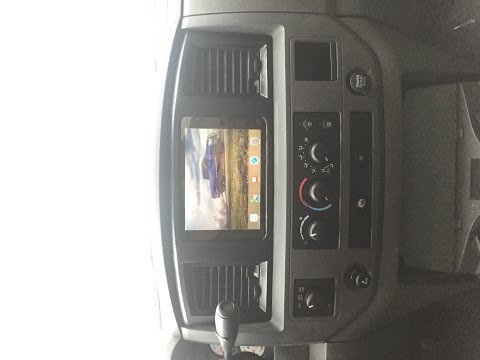 2008 Dodge Cummins In-dash IPad Install